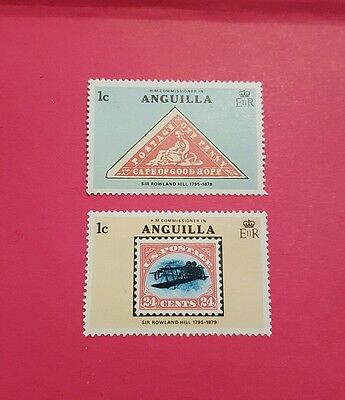 Sir Rowland Hill - Anguilla Stamps