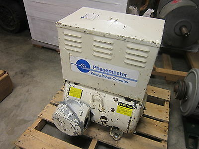 20 HP Phase Master Rotary Phase Convertor