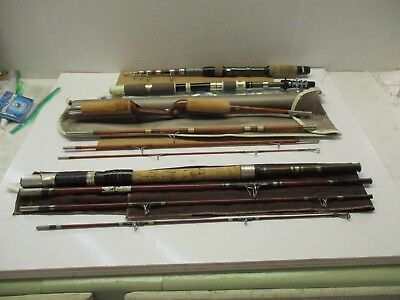 Vintage Fishing Rods Set Of 4 Must See *****************