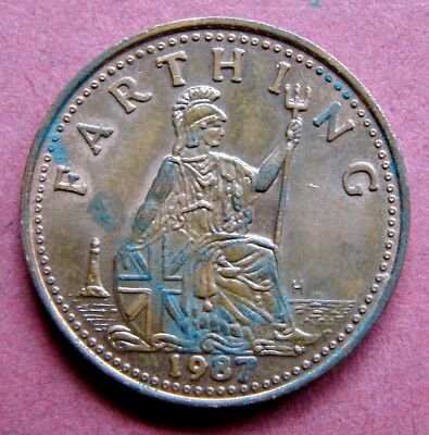 Very Collectable  1987 Farthing  Token  Issued By The Ironbridge Gorge Museum