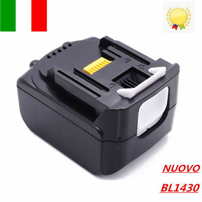 MAKITA BL1430 Batteria 14,4V 3,0Ah 3000mAh Litio Li-ion Lithium-ion 194066-1 IT