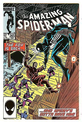 Amazing Spiderman 265   1st Silver Sable