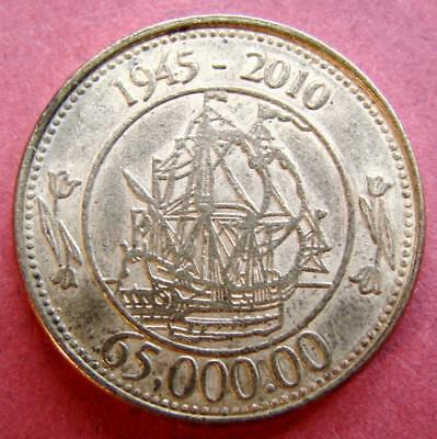 VERY COLLECTABLE  DUTCH TOKEN 65th ANNIVERSARY OF BAKKER - HOLLAND 1945 - 2010