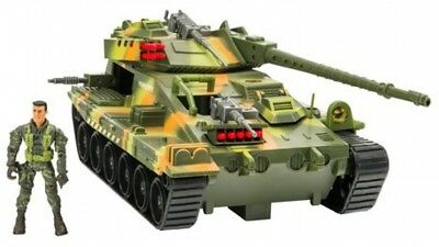 The Corps Elite Defence Convoy Tank Soldiers Costumize Fun Toy for Kids Gift