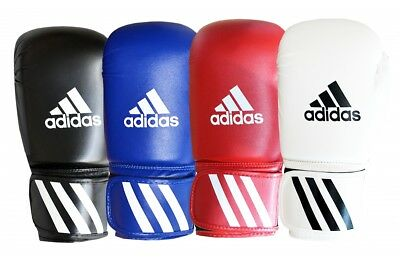 Adidas Speed 50 Boxing Gloves Sparring Childrens Adults Black Blue Red White