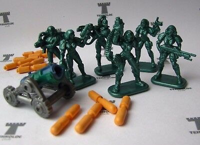 Set of 6 Felicia Special Force Only Figures Tehnolog Bronepehota 40 mm
