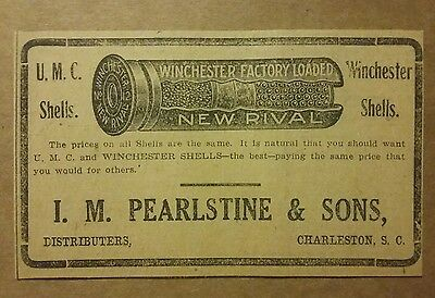 1911 UMC Winchester  Factory Loaded Shells  Ammo Ad