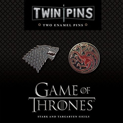 Chronicle Books (Cor)-Game Of Thrones Twin Pins  (US IMPORT)  ACC NEW