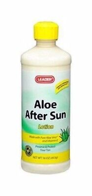 Leader Aloe After Sun Lotion, 16 oz