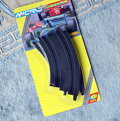 """Scalextric Micro G106 Curve Track 2pcs 45° 6"""" 153mm 1:64 NEW & SEALED Hornby"""