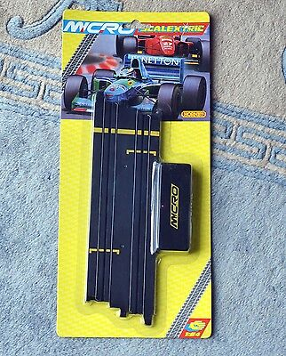 """Scalextric Micro G107 Terminal Track 9"""" 229mm 1:64 NEW & SEALED Hornby"""