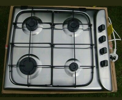 Hotpoint-Ariston Style G640SX Gas 4 Ring cooker Hob