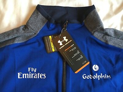 VERY RARE Godolphin Under Armour Quarter Zip Long Sleeve Top - Size XL - BNWT