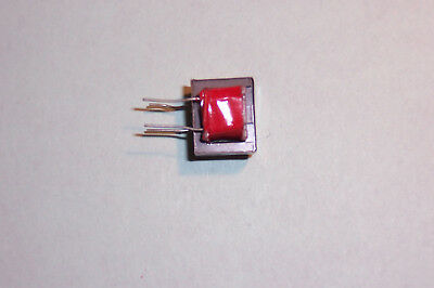 Miniature audio transformer 10mW 600Ohm 1:1 ratio