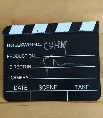 Spike Lee Signed Director Scene Clapperboard Movie Slate For Chirac