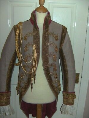 Mens Georgian Period Theatrical Coat By The Royal Opera House Theatre Costume