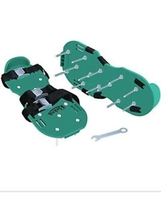 Rockrok Lawn Aerator Shoes  Spike 3 Straps per 13 Metal Spikes