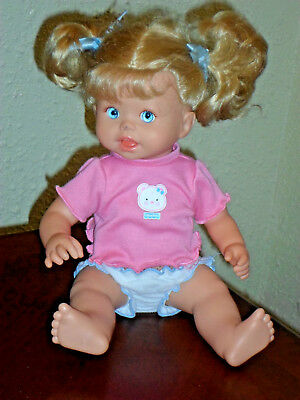 Fisher Price Little Mommy Animated Talking Potty Training Doll