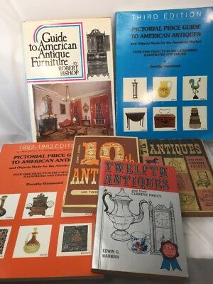 Lot 6 Collector Book Price Guide Antiques Furniture Warman