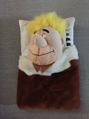 Vintage Superdrug  Barney Rubble Flintstones  Rare Hot Water Bottle Cover  14""