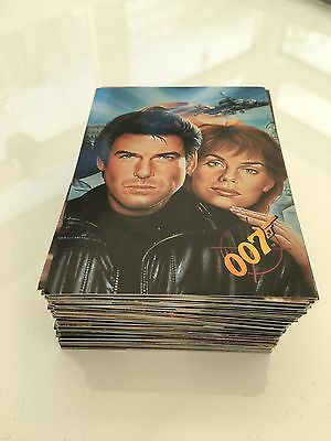 James Bond Goldeneye Complete Set Of 90 Trading Cards Plus 100+Numerous Extras