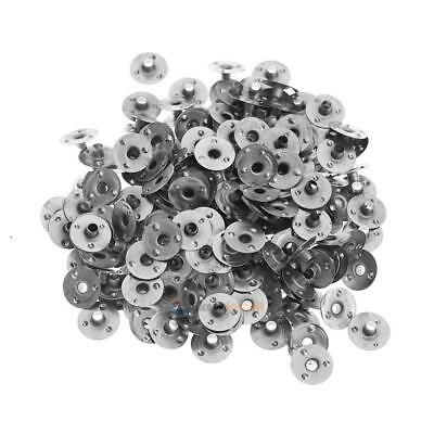200pcs Metal Candle Wick Sustainer Tabs DIY Accessories Crafts Tools