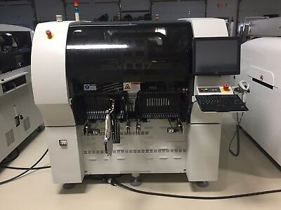 Universal Instruments Genesis 4988F GI-14D Dual Beam Placement Machine