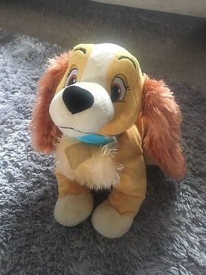 Disney Store Lady And The Tramp Lady Soft Plush Toy Comforter