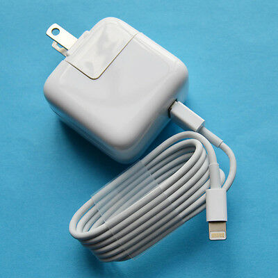 12W USB Power Adapter 5.2V 2.4A AC Charger for iPad Pro 12.9 inch 2 3 4 iPhone 6