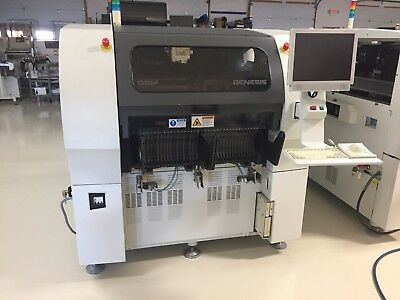 Universal Instruments Genesis 4988C GI-14D Dual Beam Placement Machine