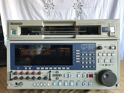 Panasonic AJ-HD2000 D5 1/2 Digital HD Video Cassette Recorder Player Low Hours