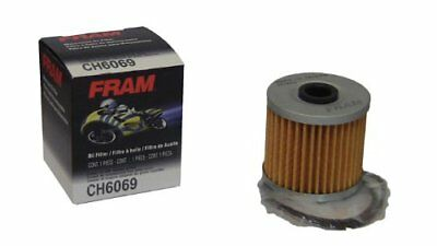 FRAM CH6069 Oil Filter Cartridge Filter for Motorcycles