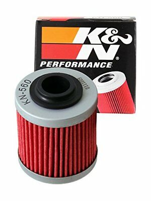K&N KN-560 Powersports High Performance Oil Filter