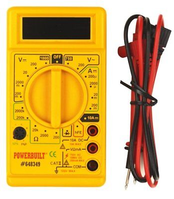 Powerbuilt 648349 Digital Multi-Meter