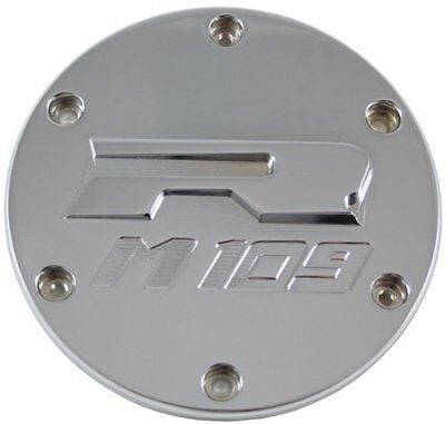 Yana Shiki CA3197 Chrome M109 Style Derby Cover for Suz