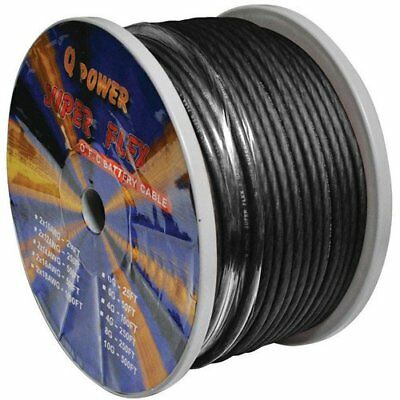 Q Power 8GABLACK 250-Feet 8-Gauge, Ultra Flexible Super