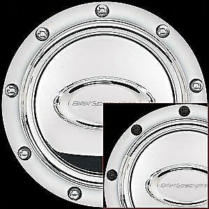 Billet Specialties 32710 Polished Riveted Horn Button w