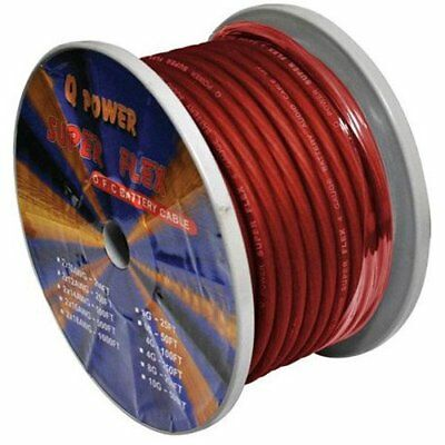 Q Power 4GARED 100-Feet 4-Gauge, Ultra Flexible Super F