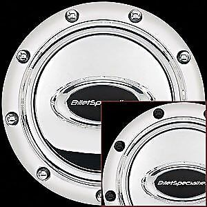 Billet Specialties 32715 Anodized Riveted Horn Button,