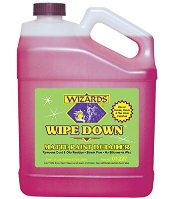 Wizards 01227 Wipe Down Matte Paint Detailer - 1 Gallon