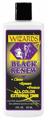 Wizards 66309 Black Renew All Color Exterior Trim Treat