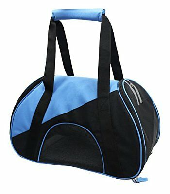 Airline Approved Zip-N-Go Contoured Pet Carrier, Blue,