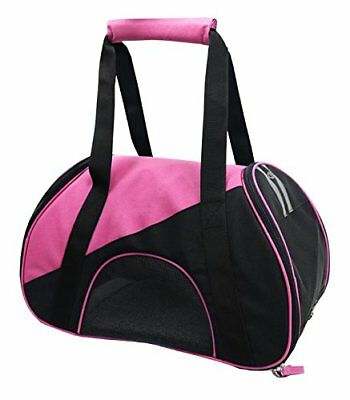 Airline Approved Zip-N-Go Contoured Pet Carrier, Pink,