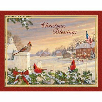 """LANG -  Boxed Christmas Cards - """"Colors Of Christmas"""" A"""