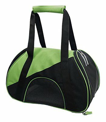 Airline Approved Zip-N-Go Contoured Pet Carrier, Green,
