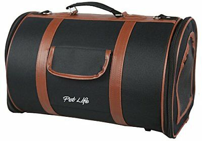 Pet Life Airline Approved Fashion 'Bark Avenue' Cylinde
