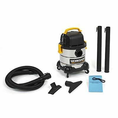 WORKSHOP Stainless Wet Dry Vac WS0400SS Stainless Steel