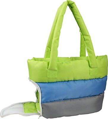 Bubble-Poly Tri-Colored insulated Pet Carrier, Green, B