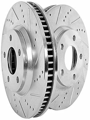 Power Stop JBR525XPR Front Evolution Drilled & Slotted