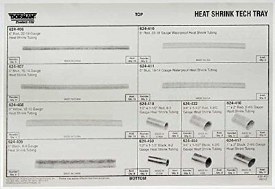 Dorman 030-450 Heat Shrink Tech Tray - 85 Piece